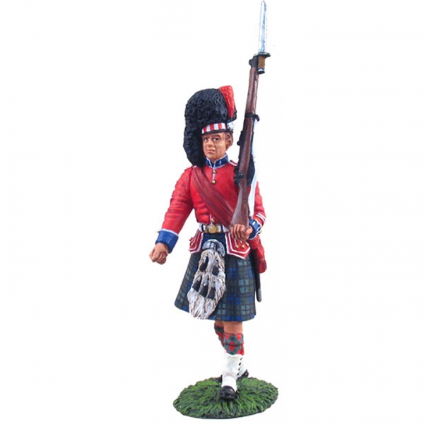 10021 - BLACK WATCH COLOUR PARTY, COLOUR SERGEANT, EARLY 20TH CENTURY