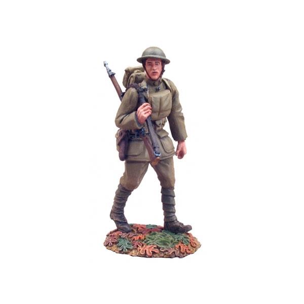 23012 - 1918 U.S. Infantry Doughboy Marching