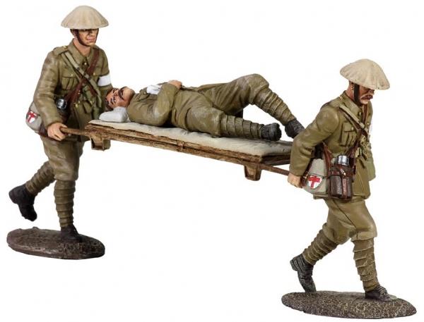 23033 - 1916 BRITISH REGIMENTAL AID POST SET NO.3, STRETCHER BEARER SET