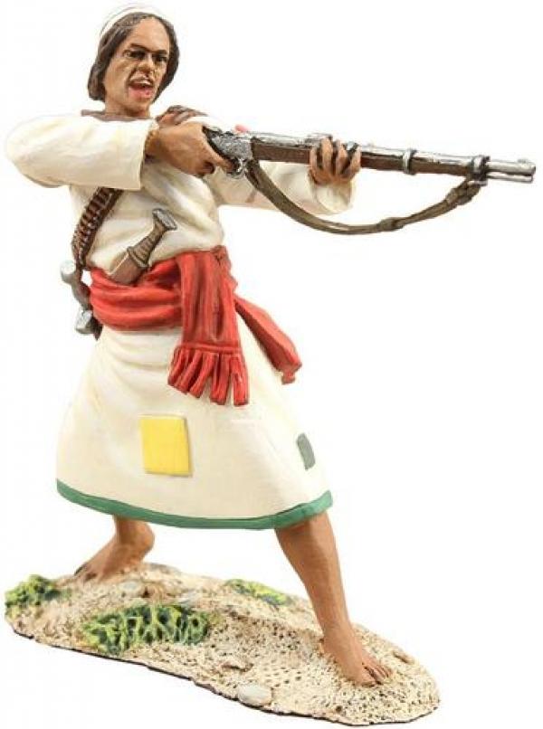 27048 - Mahdist Jihadia Warrior Standing Firing Musket No.1
