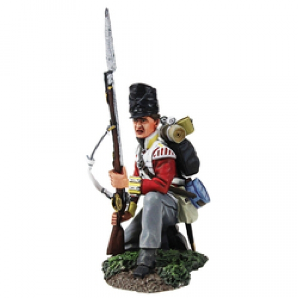 36158 - British 44th Foot Light Company Kneeling Defending