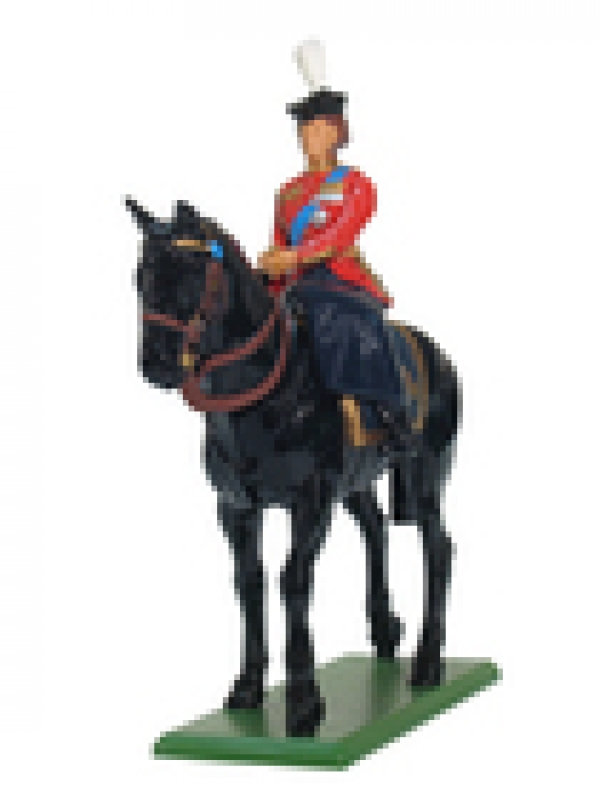 41075 - HM the Queen Mounted