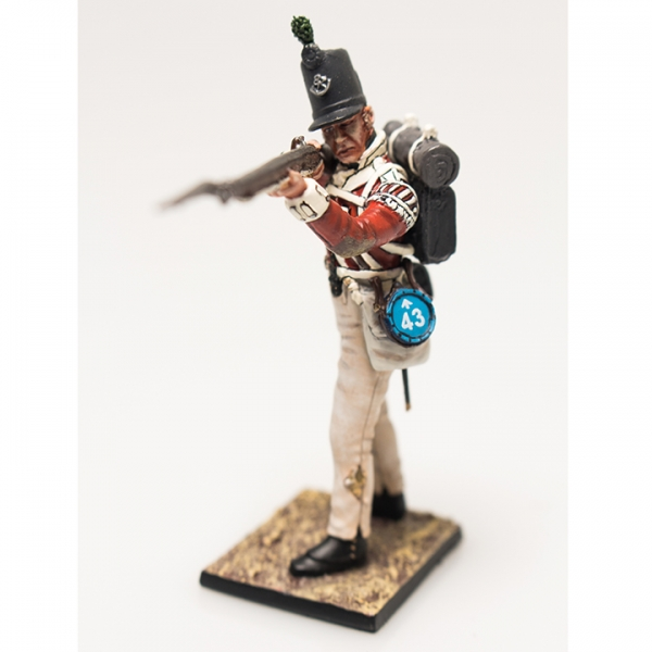 Nap 04- British 43rd Foot Light Infantry Private Standing Firing
