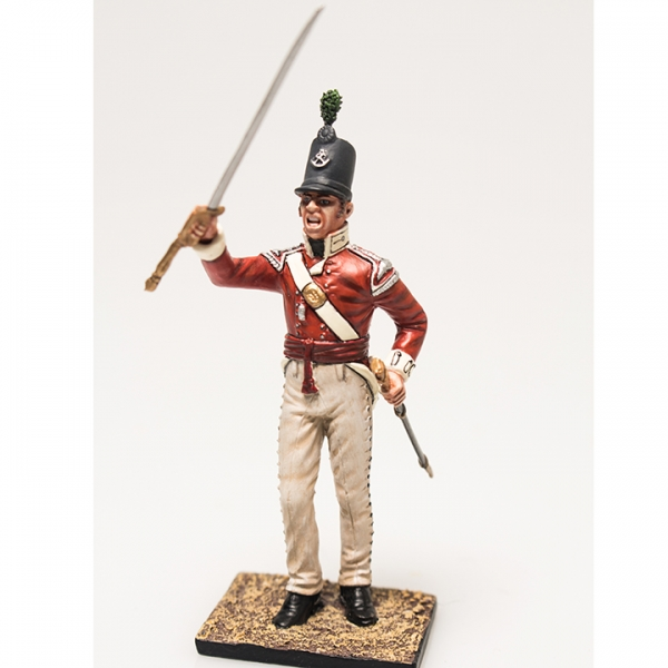 Nap 06- British 43rd Foot Light Infantry Officer