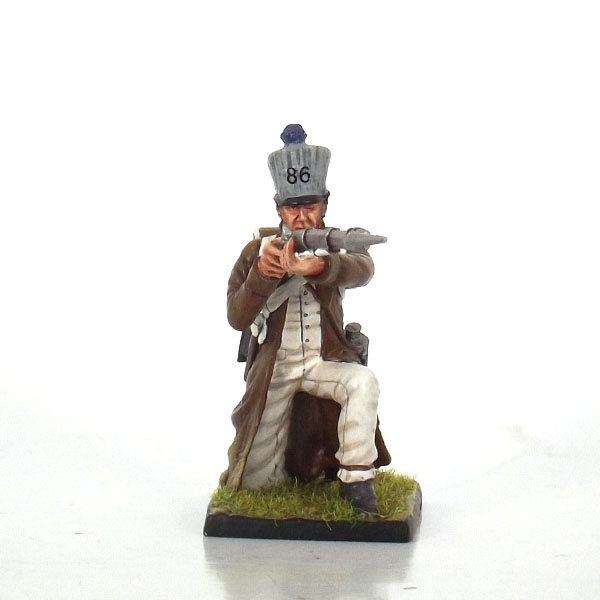 Nap 21b - French 86th Line Fusilier kneeling Firing