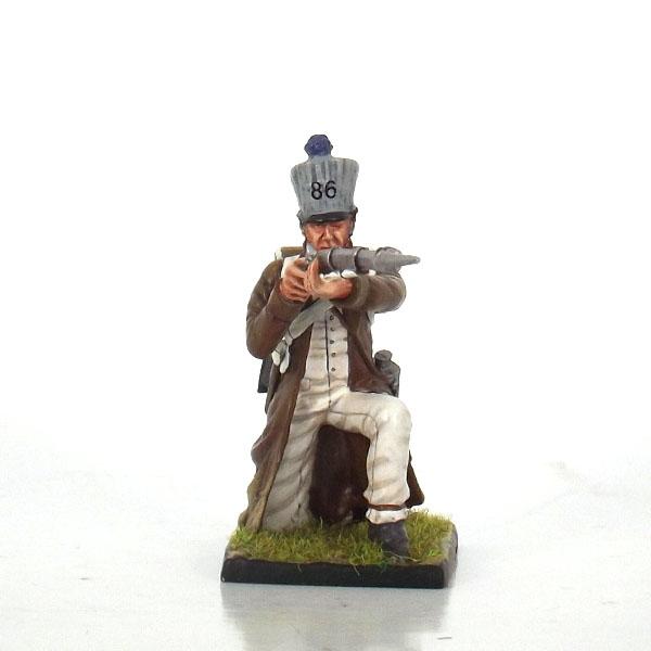 Nap 21b - French 86th Line Fusilier kneeling Firing