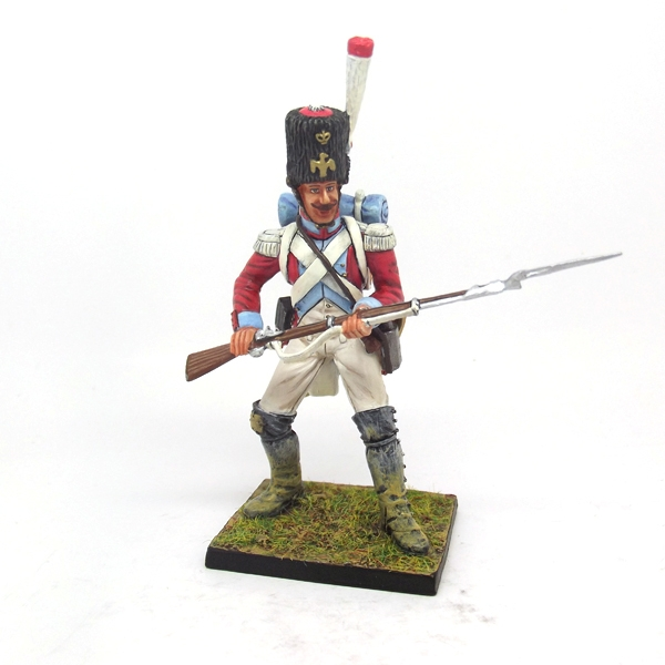 Nap 30 - 4th Swiss Grenadier in action