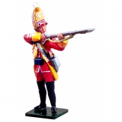 47025 - British 35th Regiment Grenadier Standing Firing, 1754-1763