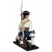 47054 - Compagnies franches de la Marine Kneeling Make Ready, 1754-1760
