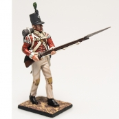 Nap 03- British 43rd Foot Light Infantry private advancing