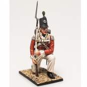 Nap 10 - 43rd Foot Light Infantry Private Kneeling Ready