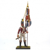 Nap 13 - 43rd Light Infantry Officer with Kings Colours