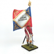 Nap 29 - 4th Swiss Fusilier Standard Bearer