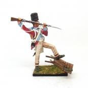 Nap 32 - 4th Swiss Grenadier Attacking with the Bayonet