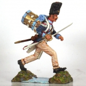 Nap 34 - 4th Swiss Grenadier Drummer Charging