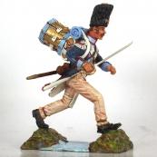 Nap 34 - 4th Swiss Grenadier Drummer Charging
