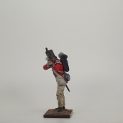 Nap 47 Royal Welch fusilier Light Company Standing Firing