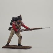 Nap 49 Royal Welch fusilier Stabbing with bayonet